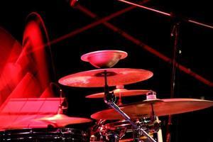 conjunto de tambores foto