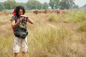 fotógrafo de caminhadas