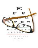 óculos e exame oftalmológico