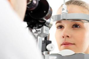 examinação do olho. foto