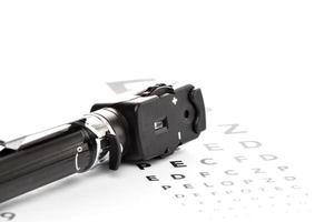 oftalmoscópio, augenspiegel, sehtest foto