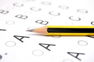 lista de teste de exame foto