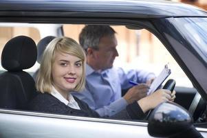 lição de condução foto