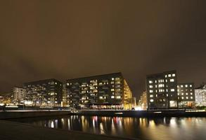 modernos edifícios de apartamentos