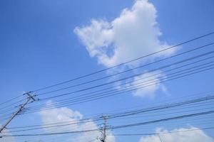 posto de eletricidade foto