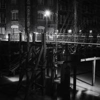 London Wharf b & w foto