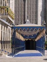 passagem real para a inauguração do rei holandês foto