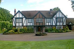 tudor britânico em casa foto