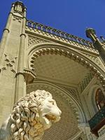 escultura de medici lion, palácio vorontsov foto