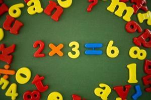 exemplo de matemática foto
