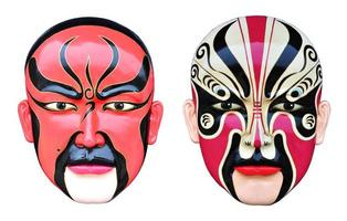 máscara de ópera chinesa