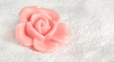 sabão rosa foto