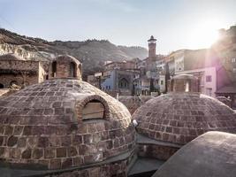 banhos de enxofre em tbilisi, geórgia foto