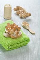 coleção de artigos de banho foto