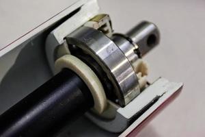 detalhe da máquina
