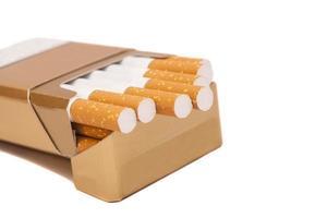 caixa de cigarros foto