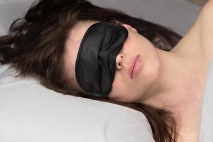 máscara de dormir foto
