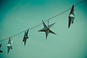estrela de Natal foto