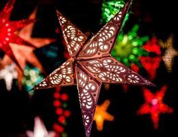 estrelas de natal foto