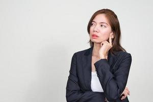 retrato de mulher de negócios asiático foto