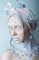 rainha do gelo menina foto