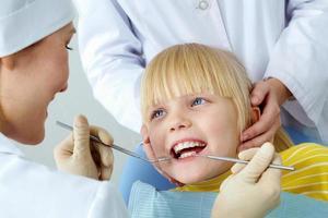 exame dentário foto