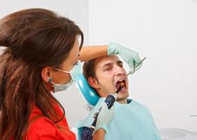 enchimento dentário foto