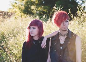 adolescentes reais, imagens do estilo de vida foto