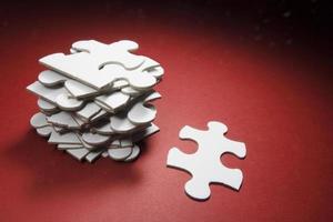 peças de quebra-cabeça