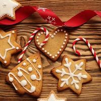 biscoitos de natal foto