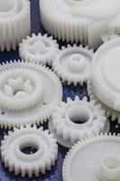 a engrenagem de plástico