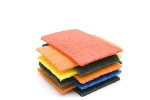 panos de esponja diferentes foto