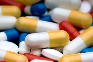 pílulas médicas foto