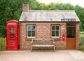 pequena estação de correios foto