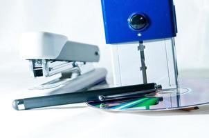 grampeador e carimbo stamper foto