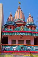 templo de matemática chaitanya gaudiya em puri foto