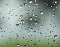 padrões de gota de chuva foto