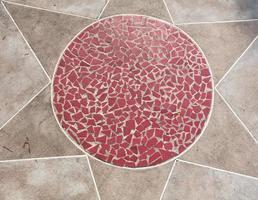 teste padrão da telha de pedra foto