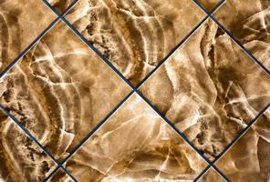 exibição de padrão de telha foto