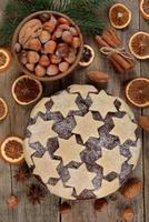 bolo de natal tradicional foto