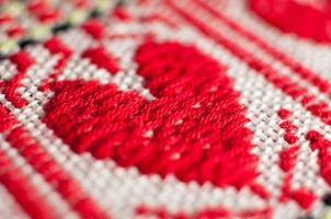 padrão de toalha de mesa, ornamento étnico croata