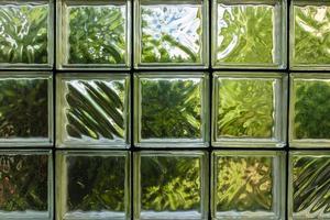 padrão de parede de bloco de vidro