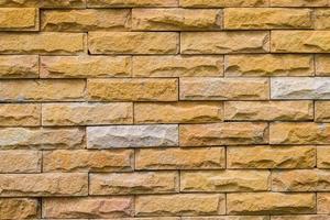 padrão de parede de tijolos marrons antigos foto