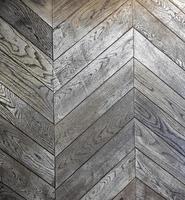 ziguezague piso de madeira padrão foto