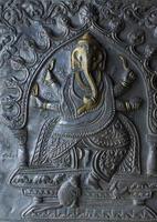 padrão nacional índio, decoração, foto