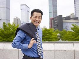 pessoa de negócios asiáticos foto