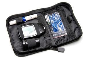 kit de diabetes foto