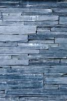 padrão moderno de superfícies decorativas de parede de pedra bule foto