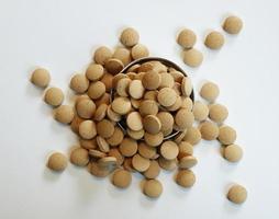 pílulas de vitamina foto