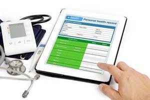 informação do paciente. foto